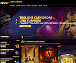 Screenshot vom LVBet Casino