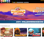 Screenshot vom Slotsmillion Casino